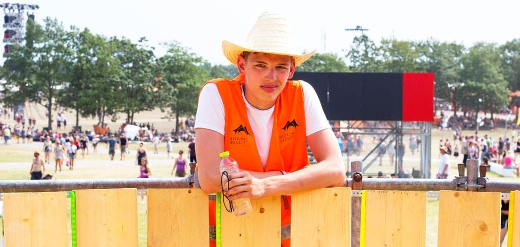 Frivillig på festival – mød Caspar