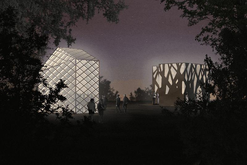 Flagship Shelters. Illustration: Superflex