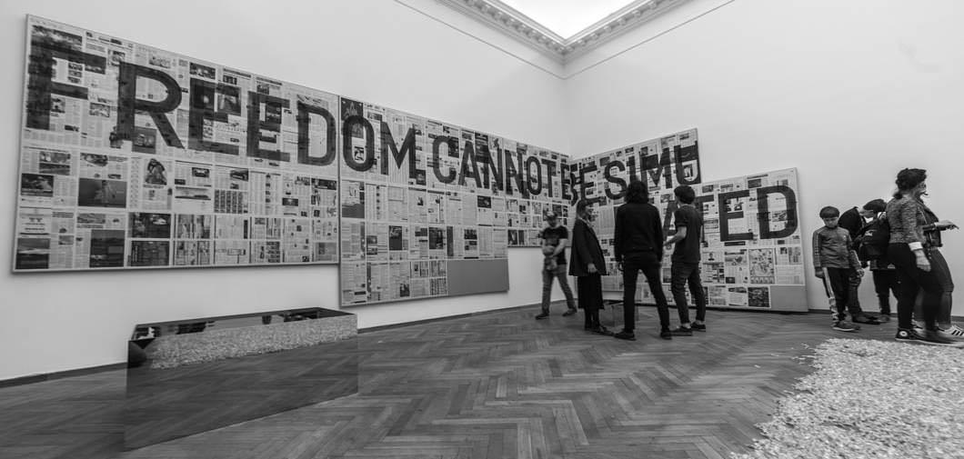 Fotoreportage: Art & Rising på Charlottenborg 4. maj 2016
