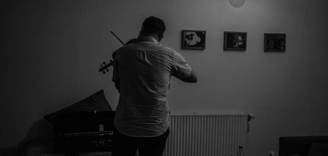 The Orchestra of Syrian Musicians gæstede spillestedet Global i juni 2016. Fotograf: Arthur J. Cammelbeeck