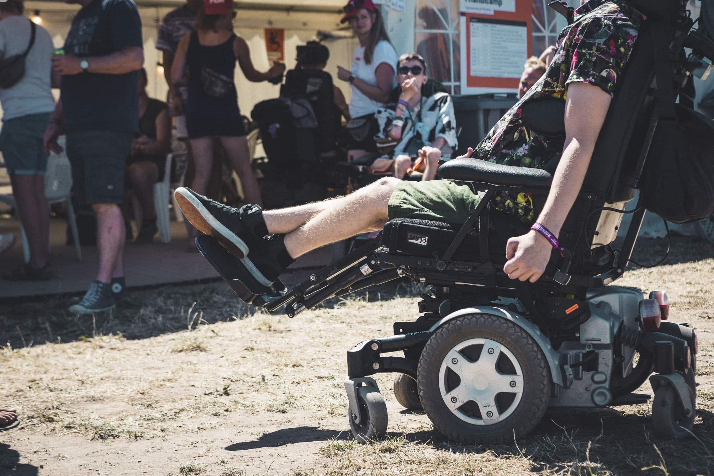Ny service gør festivallivet nemmere for handicappede