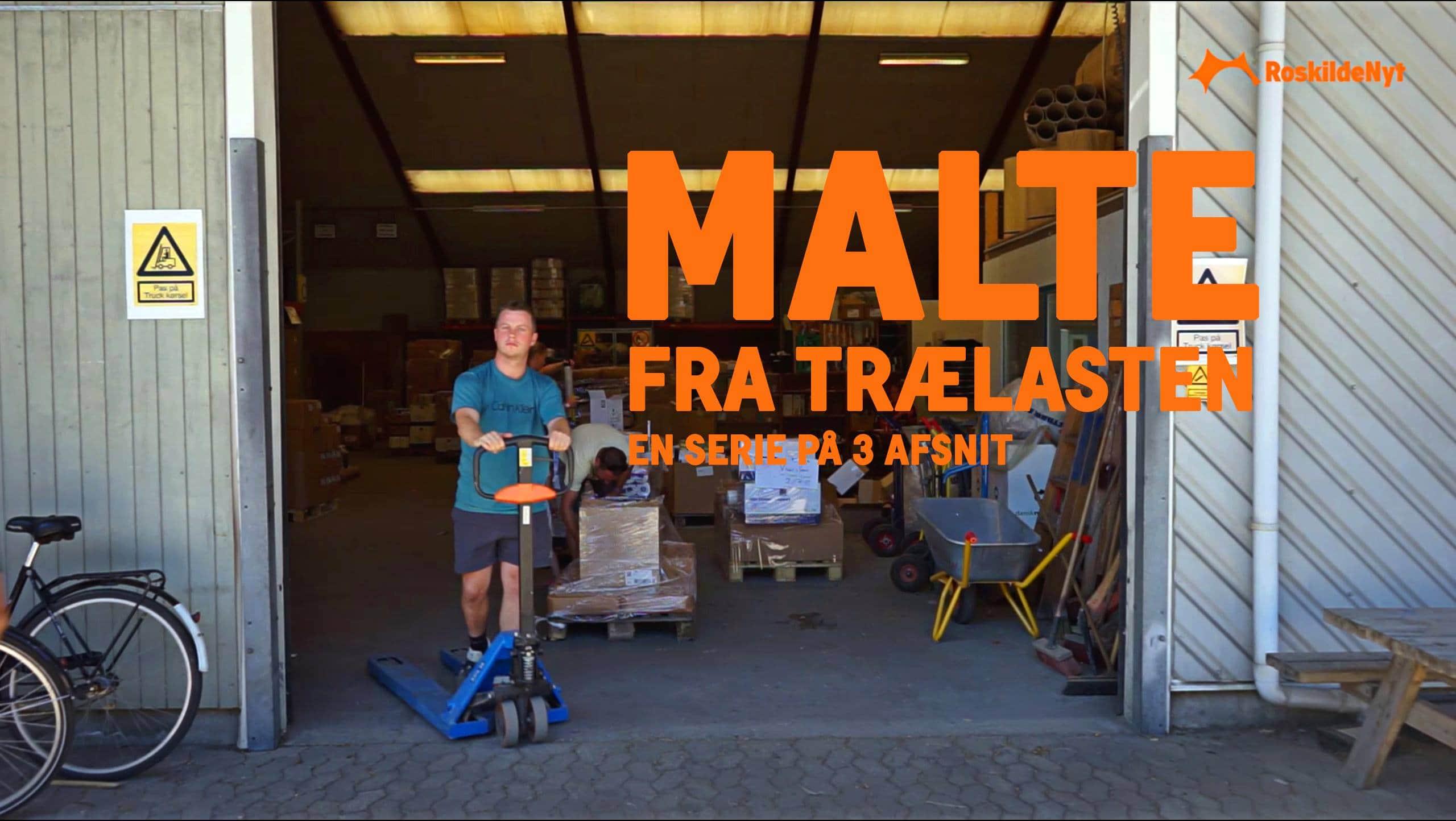 Frivillig på festival: Malte fra trælasten tjekker ind