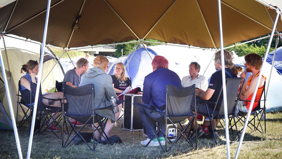 Roskilde Festival med samtykke