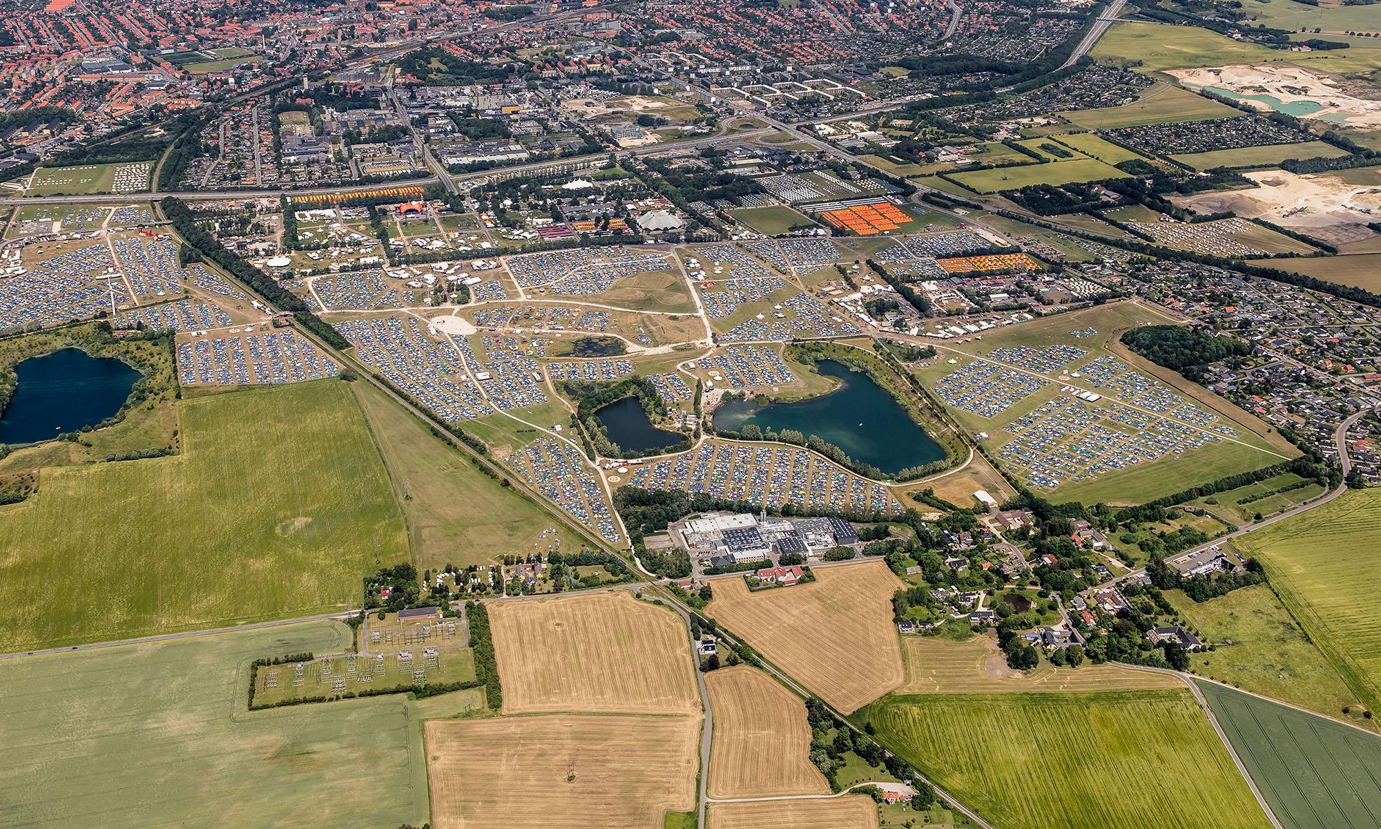 Grusgraven æder sig ind på Roskilde Festival