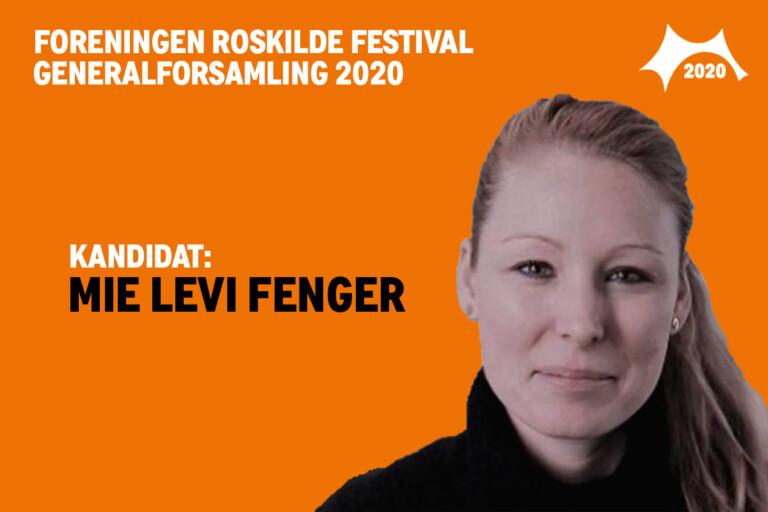 Mød bestyrelseskandidat Mie Levi Fenger