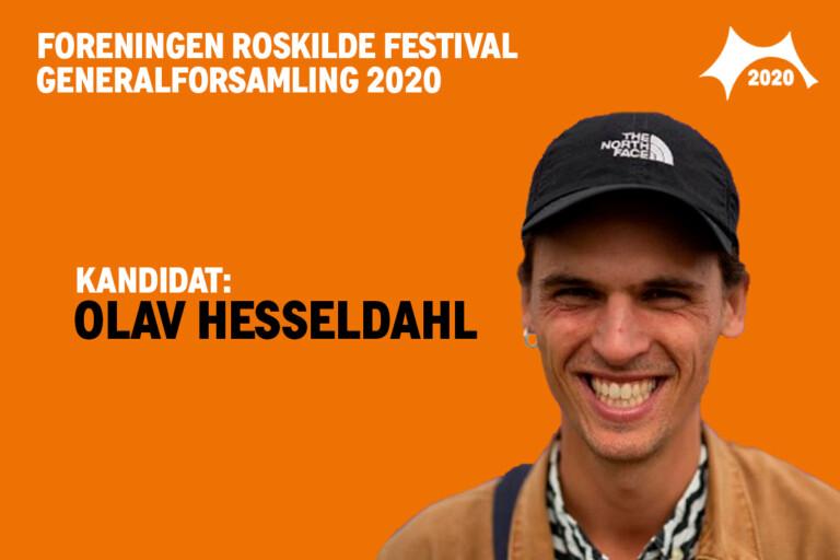 Mød bestyrelseskandidat Olav Hesseldahl
