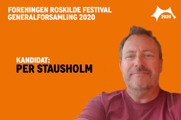 Mød bestyrelseskandidat Per Stausholm