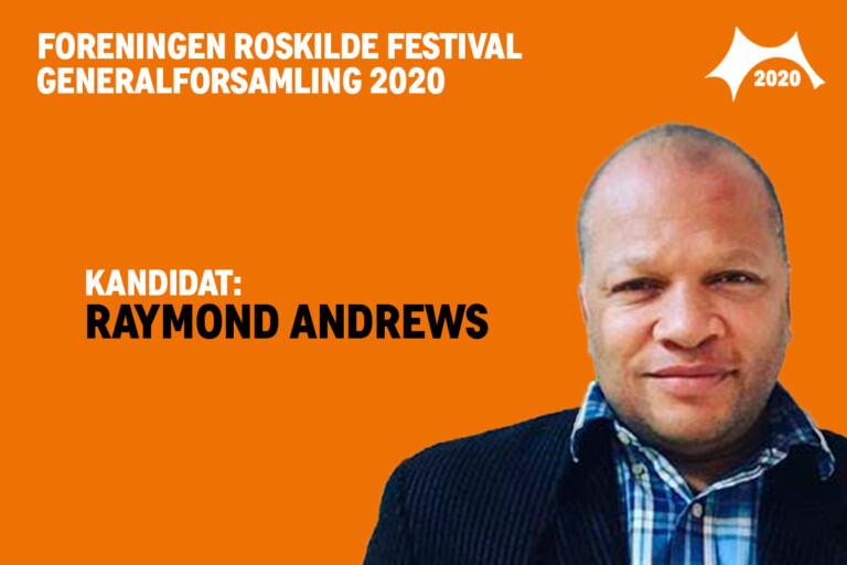 Mød bestyrelseskandidat Raymond Andrews
